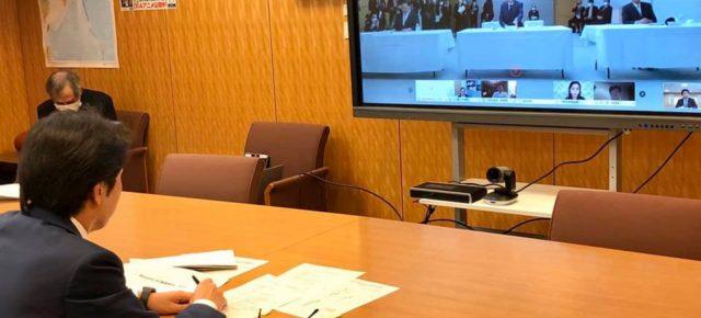 政府のIT総合戦略本部会議にリモート参加致しました。