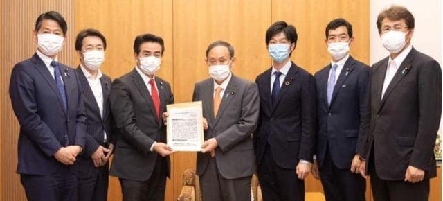 菅首相へ『我が国の人権外交のあり方 第一次提言』を申し入れ@首相官邸